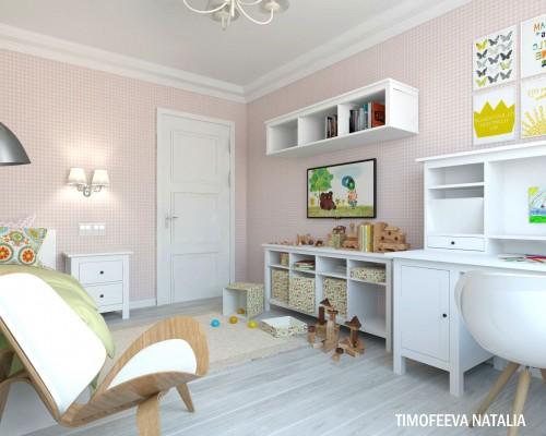 Дизайн детской 15 кв.м