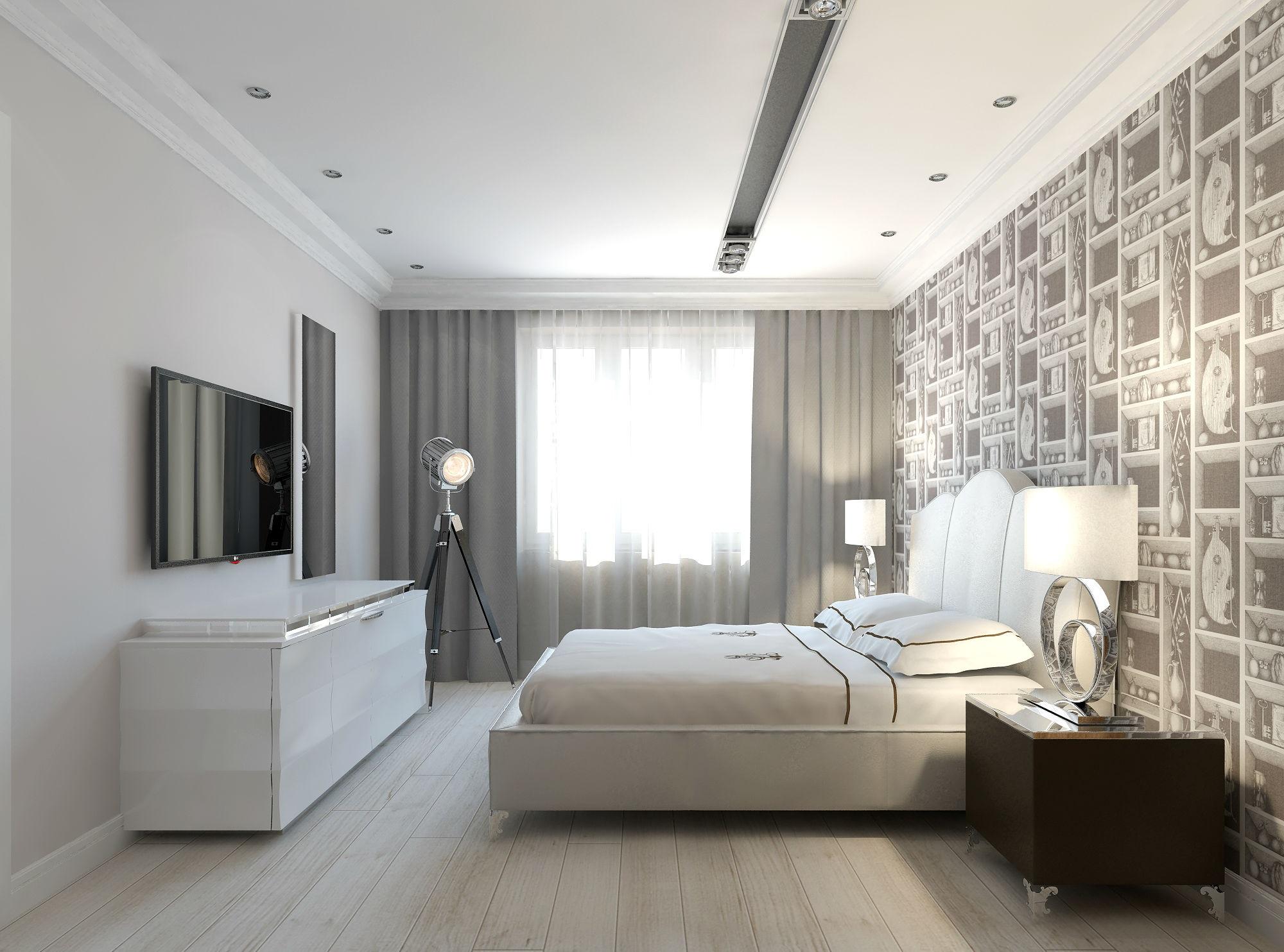 Дизайн семейной спальни