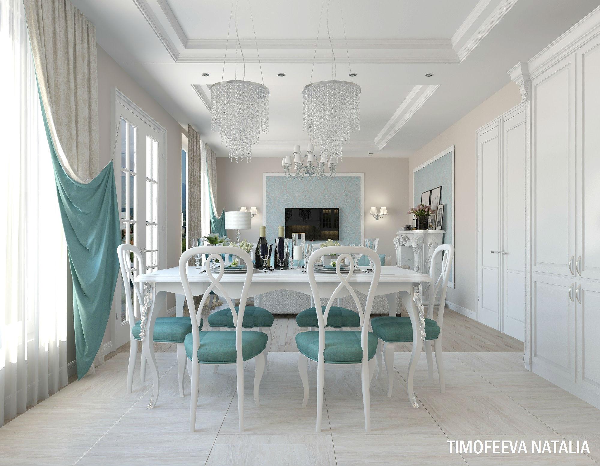 кухня-гостиная дизайн фото 35 кв.м