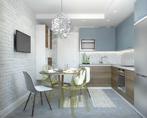 Дизайн 2 ком.квартиры 54 кв.м