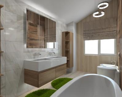 Дизайн таунхауса 144 кв.м