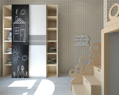 Дизайн детской комнаты 15 кв.м