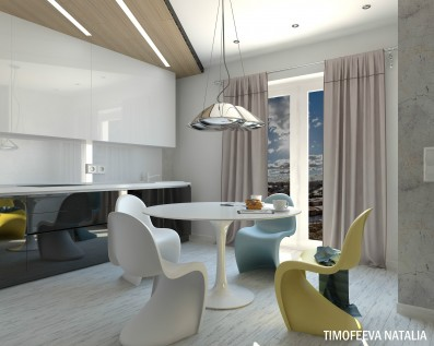 Дизайн 1 ком. квартиры