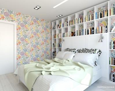 Дизайн 1 ком. квартиры 42 кв.м