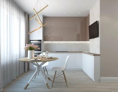 Дизайн 3 ком.квартиры 75 кв.м