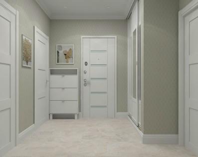 Дизайн 2 ком.квартиры 61 кв.м
