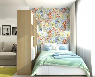 Дизайн 1 ком.квартиры 34 кв.м.