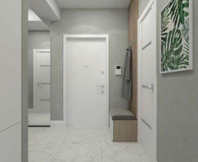 Дизайн 2 ком.квартиры 70 кв.м