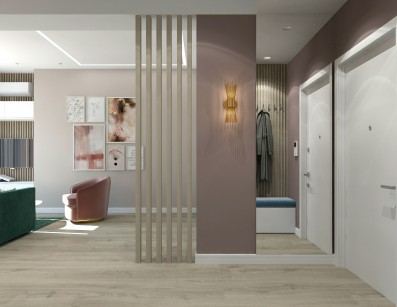Дизайн студии 34 кв.м