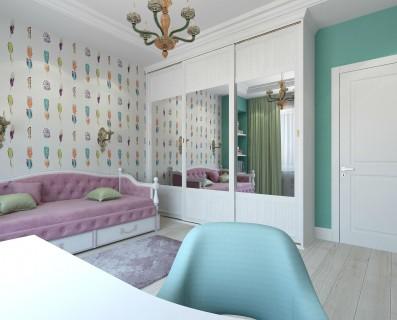 Дизайн 3 ком.квартиры 98 кв.м