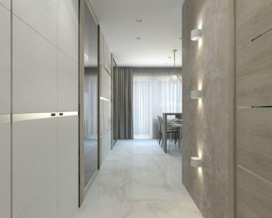 Дизайн 1 ком.квартиры 47 кв.м