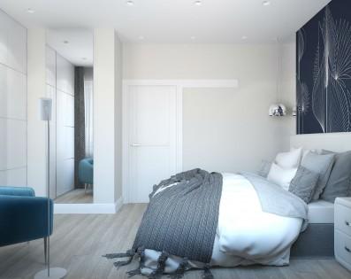 Дизайн 2 ком.квартиры 44 кв.м