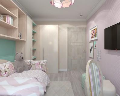 Дизайн детской 13 кв.м
