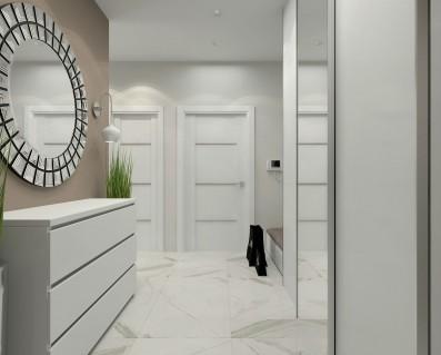 Дизайн кухни-гостиной 35 кв.м