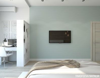 Дизайн 2 ком.квартиры 74 кв.м