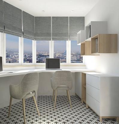 Дизайн 2 ком.квартиры 64 кв.м