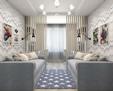 Дизайн 3 ком.квартры 84 кв.м