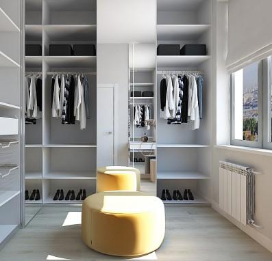 Дизайн 2 ком.квартиры 58 кв.м