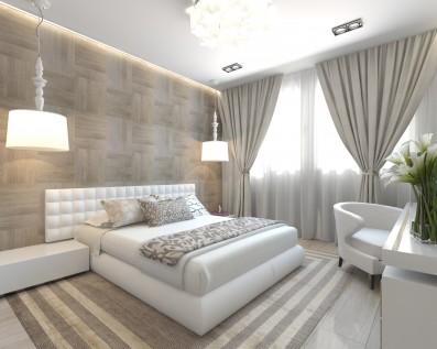 Дизайн 2 ком. квартиры 66 кв.м