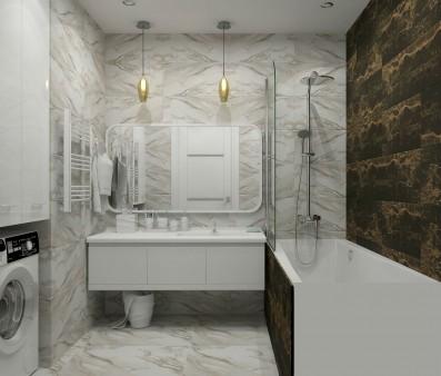 Дизайн 2 ком.квартиры 67 кв.м