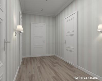 Дизайн 3 ком. квартиры 87 кв.м
