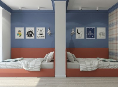 Дизайн 3 ком.квартиры 93 кв.м