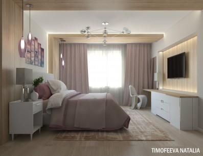 Дизайн 2 ком.квартиры 94 кв.м