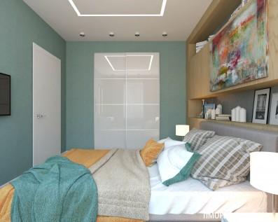 Дизайн 2 ком.квартиры 72 кв.м