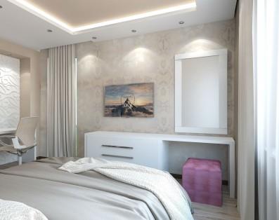 Дизайн 2 ком.квартиры 62 кв.м