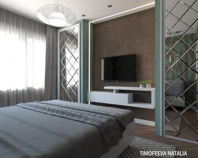 Дизайн 2 ком. квартиры
