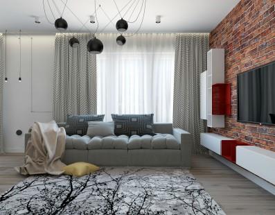 Дизайн 3 ком.квартиры 86 кв.м