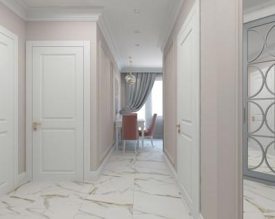 Дизайн 1 ком.квартиры 40 кв.м