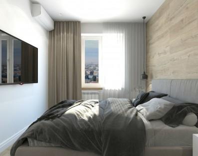 Дизайн 1 ком.квартиры 34 кв.м